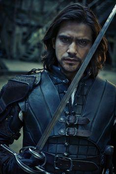 The Musketeers - Season 3 - D'Artagnan Bbc Musketeers, The Three Musketeers, The Muskateers, Milady De Winter, Musketeer Costume, Bbc Tv Shows, Luke Pasqualino, Tom Burke, Naval