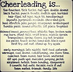 This IS what cheer is.