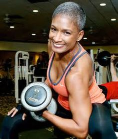 Carla Kemp fitspo black women fitness bald women style muscle fashion
