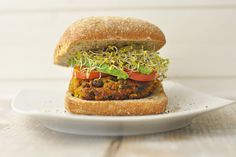 "alloftheveganfood: "" Vegan Sweet Potato Burger Round Up Easy Sweet Potato Veggie Burgers with Avocado Maple Pecan Sweet Potato Burgers Spicy Black Bean, Sweet Potato & Quinoa Burger Vegan Sweet Potato..."