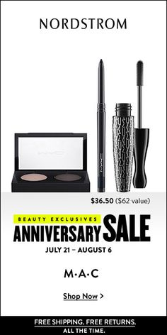 NORDSTROM - Choose 80+ FREE Beauty Gifts with Purchase