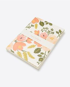 Plan out and reminisce about your favorite summer moments in this gorgeous Rifle Paper Co. Botanical Journal sold at Ann Taylor. #anntaylor #riflepaperco #writing #journal