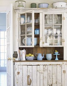 lovely cabinet from Country Living Mag furniture ideas
