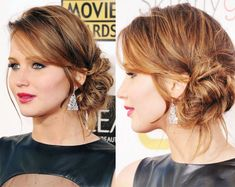 How To Match Your Hairstyle To Your Dress Hair Ideas Pinterest