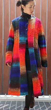 Noro Kureopatora Cabled Coat Kit - Got Yarn! Got Kits! Get Knitting!
