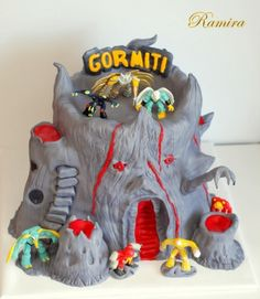 Gormiti cake By ramira on CakeCentral.com