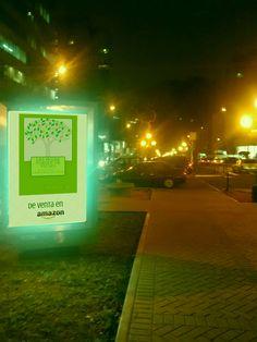 Hojas verdes en Avenida Pardo