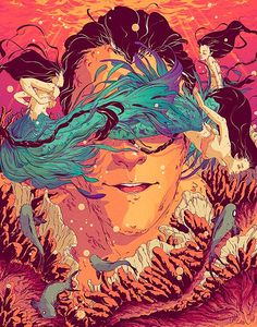 Ilustración y colorido de Goñi Montes