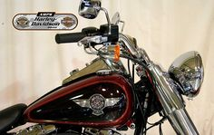 2013 HARLEY DAVIDSON FLSTF in Ember Red/Merlot Sun At Auckland Motorcycles & Power Sports,  New Zealand www.amps.co.nz
