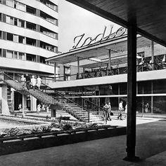 Pasaż Śródmiejski, Cafe Zodiak, lata 60.   (fot. Edmund Kupiecki)