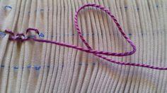 El Costurero De Espe: [Parte 3.2] Tutorial Puntosmock.Puntos básicos: Cable/ Cable doble