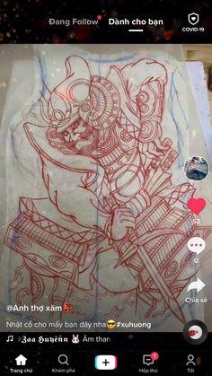 Traditional Japanese Tattoos, Samurai Tattoo, Back Tattoo, Tatoo, Back Tattoos