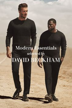 Masculine, urban and sharp, the Modern Essentials selected by David Beckham creates a new male uniform for the city for autumn 2016 at H&M.