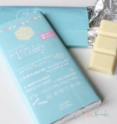 Chocolates personalizados para bodas y eventos. Chocolat for wedding.