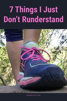 I know a lot about running. I know what works for most people generally.That said, there a few things that Idon't understand about running. Things that don't make sense to me, and likely never will. Read about them on my blog. #running