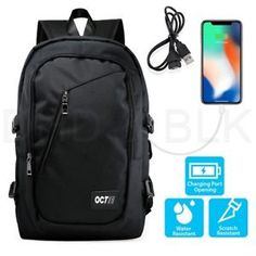 USB charging backpack anti-theft portable portable travel bag for school - Travel Backpack - Ideas of Travel Backpack - USB charging backpack anti-theft portable portable travel bag for school Price : Backpack Outfit, Laptop Backpack, Black Backpack, Travel Backpack, Men's Backpacks, School Backpacks, Anti Theft Backpack, Business Laptop, Computer Bags