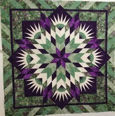 Summer Solstice, Quiltworx.com, Made by CI Janet Spinks