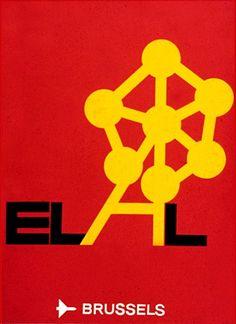 Dan Reisinger EL AL Poster