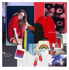 """""""Brighter than the sun"""" by rainie-minnie ❤ liked on Polyvore featuring Emma Watson, Chloé, Alexander Wang, Christopher Kane, Anya Hindmarch, OPI, NARS Cosmetics, MAC Cosmetics and Yves Saint Laurent"""