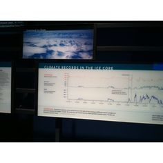 Ice core climate records