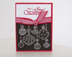 Stampin Up Christmas Cards 2012 | Christmas Cards