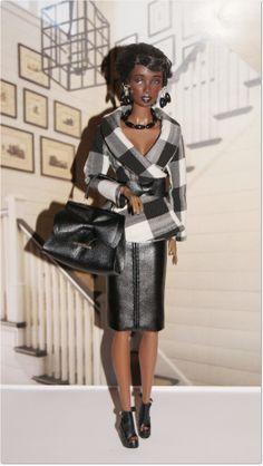 Fashion Ooak Doll Clothes for Fashion Royalty Diva Fashion, Fashion Dolls, Womens Fashion, Beautiful Clothes, Beautiful Outfits, Big Girl Toys, Fashion Clothes, Fashion Outfits, Barbies Dolls