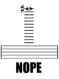 Imagine a cello playing this. On the bass clef of course but is it even possible?<<idk they'd probably literally be bending over the cello Funny Band Memes, Marching Band Memes, Band Jokes, Flute Problems, Band Problems, Orchestra Humor, Musician Memes, Music Jokes, Funny Music