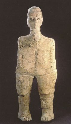 La restauration des statues anthropomorphes d'Aïn Ghazal