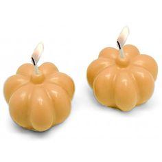 Molde de velas de calabaza, perfectas como detalles para manualidades Halloween, tales como jabones, velas y ambientadores. Disponibles en Gran Velada.