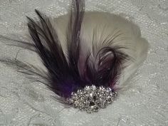 Bridal Fascinator Ivory Coquille Feathers with by kathyjohnson3, $36.00