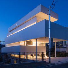 *환경을 극복하여 공간을 확장시킨 오사카 주택-[ Tato Architects ] House in Toyonaka :: 5osA: [오사]