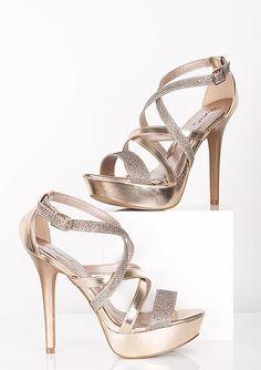 dELiAs > Julie Glitter Heel > shoes > heels