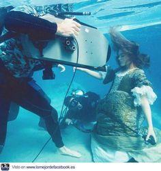 Detrás de las cámaras. Las fotos más épicas de la historia del cine. - PIRATAS DEL CARIBE