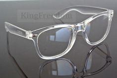 Vintage Transparent Eyeglass Frame Spectacles Full Rim Retro Fashion Glasses Rx