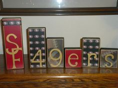 Wood Blocks Personalized for your Favorite by CreativeCustomBlocks, $5.00