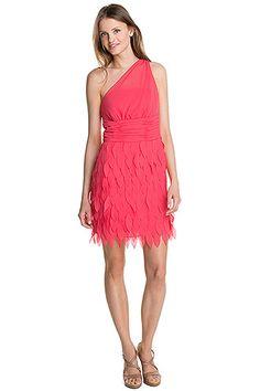 Esprit : Robe mousseline+épaule nue à acheter sur la Boutique en ligne
