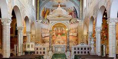La Iglesia Santi Nereo e Achilleo, en Roma - http://www.absolutitalia.com/la-iglesia-santi-nereo-e-achilleo-en-roma/