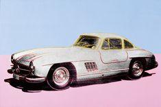 Mercedes-Benz 300 SL Coupé (1954), Andy Warhol 1986 - Daimler Art Collection Daimler Art Collection