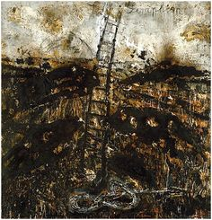 Anselm Kiefer was born on March in Donaueschingen - German. Anselm Kiefer, Claude Monet, Statues, Texture Art, Painting Inspiration, Room Inspiration, Contemporary Artists, Les Oeuvres, Sculptures