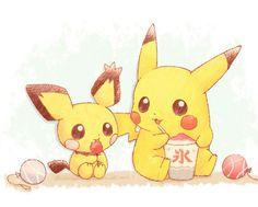 Pikachu and Pichu⚡