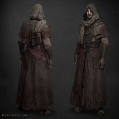 ArtStation - Mysterious Figure Full Body in Engine, Jarad Vincent Fantasy Male, High Fantasy, Fantasy Rpg, Medieval Fantasy, Character Concept, Character Art, Concept Art, Dnd Characters, Fantasy Characters