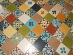 Tile Floor, Flooring, Quilts, Texture, Blanket, Contemporary, Rugs, Crafts, Home Decor