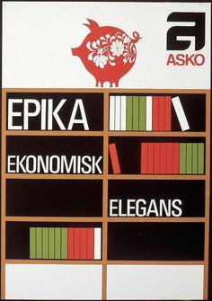 Asko epika ekonomisk elegans - Askon vanha mainos