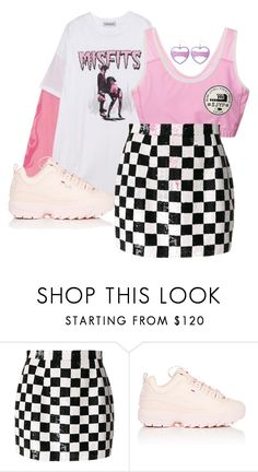 """""""x"""" by rosavage01 on Polyvore featuring Ashish and Fila"""
