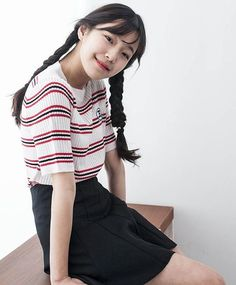 Baek Jiheon | 백 지헌 | Pinterest @reanjuns South Korean Girls, Korean Girl Groups, Lee Seo Yeon, Cute Asian Fashion, Guan Lin, Cute Korean, Our Girl, Pop Group, Kpop Girls