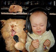 La música no conoce edad..... ni raza!!!  ;-)