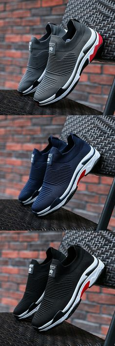 US $28.03 <Click to buy> Prikol Luxury Brand Men Tennis Shoes Summer Sports Sock Shoes Wearable High Quality Knitted Sneaker Zapatillas Calcado Street