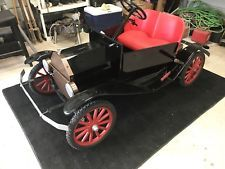 Tin Lizzie Model T Parade Car Shriners Vintage Go Cart Collectors Ford Tin Lizzie Tin Vintage