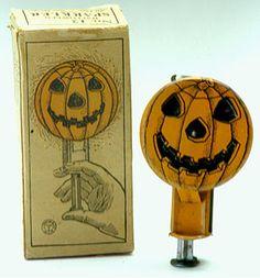 Halloween pumpkin sparkler...