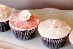 Cupcakes nupciales, wedding cupcakes, cupcakes boda